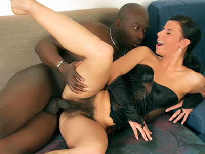 hairy Chick Interracial Action